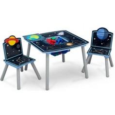 Medinis staliukas su 2 kėdutėmis Cosmo