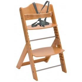 Medinė maitinimo kėdutė