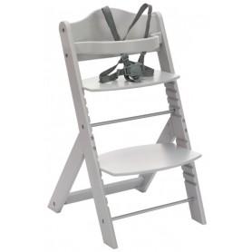 Medinė maitinimo kėdutė Max Grey
