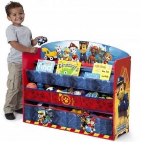 Didelė žaislų dėžė - knygų lentyna Paw Patrol