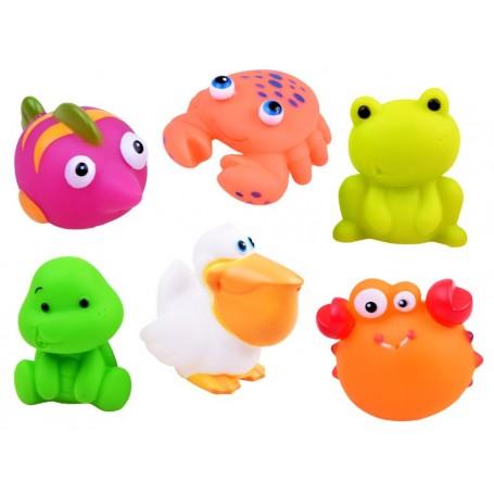 Purškiantis vonios žaislai Sea Animals (6 vnt.)