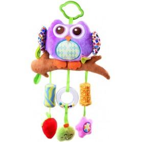 Pakabinamas žaislas Pelėda - varpelis