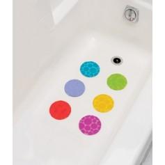 Munchkin neslidūs apskritimai voniai Grippy Dots