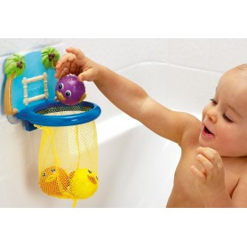 Munchkin vonios žaislas Krepšinis