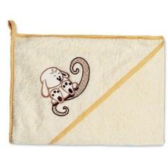 Vonios rankšluostis su gobtuvu Triušiukas