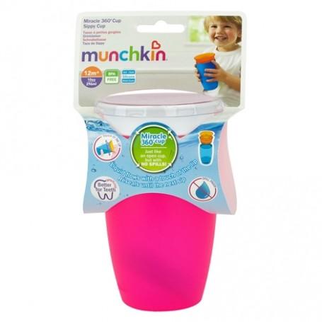 Gertuvė neišsipilanti Munchkin Miracle Sippy