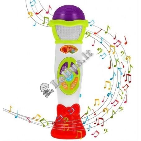Nėšiojamas vaikiškas mikrofonas