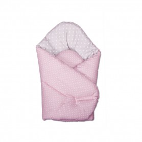 Vokelis kūdikiui Žirniukai Pink