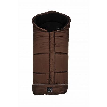Vokelis vežimėliui Iglu Thermo Fleece, brown