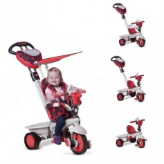 Triratukas Smart Trike Dream Red 4in1