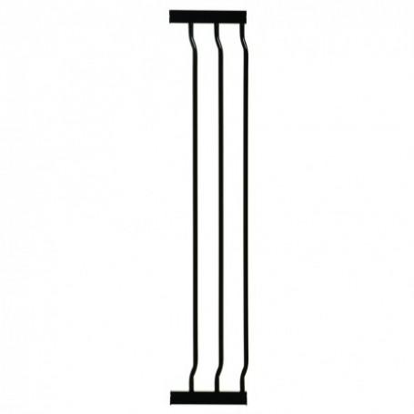 18 cm. Dreambaby aukštų vartelių prailginimas (juodas)