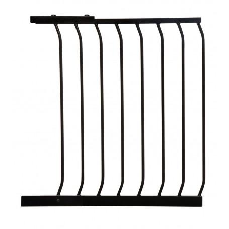 Dreambaby aukštų vartelių prailginimas 63 cm. juodas