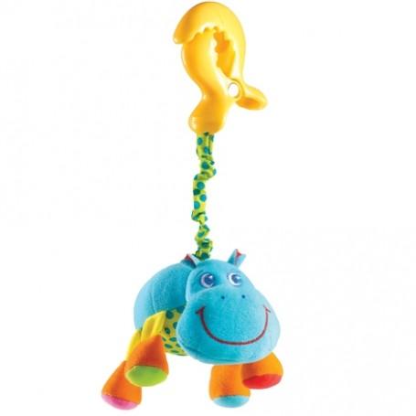 Tiny Love pakabinamas vibro žaislas Begemotas