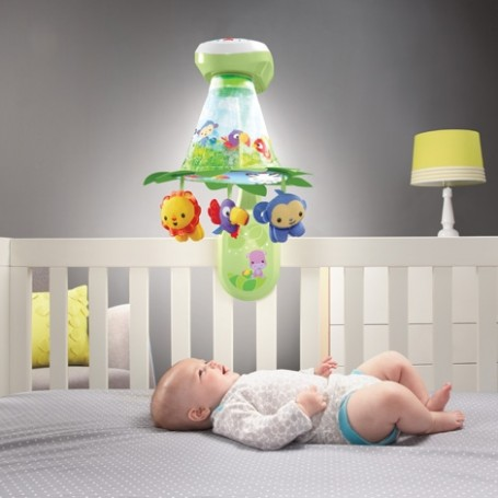 Karuselė Fisher Price Grow with Me 2in1
