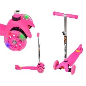 Paspirtukas Twist&Roll Happy Day Pink